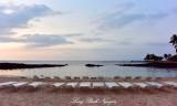 Sunset on Pauoa Bay, Fairmont Orchid, Big Island, Hawaii