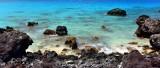 Blue Water at Manini'owali Beach, Kailua-Kona, Big Island, Hawaii