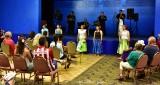 Japanese Hula Performers, Merrie Monarch 2015, Hilo, Hawaii