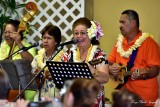 Musicians at Merrie Monarch 2015, Hilo, Hawaii