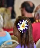 Flowers in Hair Hilo Hawaii