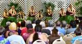 Hawaiian Hula Dancers, Hilo Hawaiian Hotel, Merrie Monarch 2015, Hilo