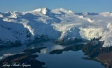 Blackstone Glacier, Beloit Glacier, Blackstone Bay, Kenai Mountain, Whitter, Alaska