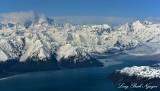 Mount Cook, Hubbard Glacier, Disenchantment Bay, Wrangell-St Elias National Park, Alaska