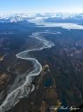 Dangerous River from Harlequin Lake, Yakutat Foreland, Yakutat Glacier, Brabazon Range, Alaska