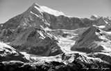 Mount Crillon, North and South Crillon Glacier, Fairweather Range, Glacier Bay National Park, Alaska