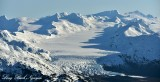Tebenkof Glacier, Kenai Mountains, Whittier, Alaska