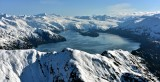 Blackstone Glacier, Northland Glacier, Willard Island, Blackstone Bay, Kenai Mountains, Alaska