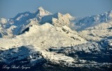 Columbia Peak Mount Defiant Columbia Glacier Chugach Mountains Alaska