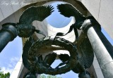 Eagles and Wreath, Pacific Arch, World War 2 Monument, Washington DC