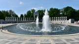 Fountain and Pacific Arch, World War 2 Memorial, Washington DC