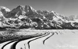 Mount St Elias, Malaspina Glacier, Wrangell-Saint Elias National Park, Alaska