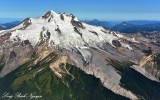 N604EM over Glacier Peak
