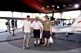Bill Charlie Matt at Icon A5 tent