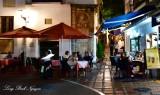 Dinner in Orange Square Old, Marbella