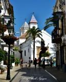 Calle Ancha, Chapel of Santo Cristo de la Veracruz, Marbella, Spain