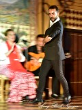 In the Moment of Flamenco Dancer