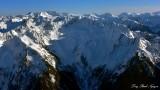 Spire Peak Spire Glacier, Dome Peak and Glacier, North Cascades National Park