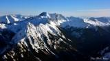 Needle Peak, Dark Peak and Glacier, Bonaza Peak, North Cascades Mountain, Washington 671