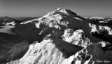 White Chuck Mountain, White River Glacier, Glacier Peak, Disappointment Peak, Cascade Mountains, WA  881