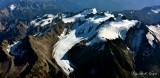 Hoh Glacier, Humes Glacier, Mount Mathias, Mount Olympus, Olympic National Park, Washington 185