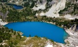 Jade Lake, No Name Lake, Mount Daniel, Cascade Mountains, Washington 331