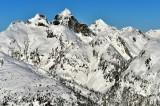 Mt Triumph, Mt Despair, North Cascades National Park, Washington 982