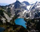 Jade Lake, No Name Lake, Mount Daniel,  Cascade Mountains, Washington 318