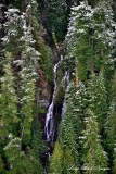 Waterfalls on west side of Green Mountain Washington  145