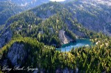 Horseshoe Lake, Washington Cascade Mountains 392