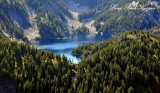 Lake Caroline on Preacher Mountain Washington Cascade Mountains 427