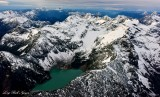 Blanca Lake, Columbia Glacier, Monte Cristo, Three Fingers, Mt Baker, Washington 723