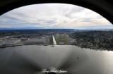 Renton Airport and Lake Washington from T-34B  Washington 094