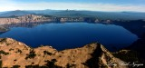 Wizard Island, Witches Cauldron, Hillman Peak and Llao Rock, Crater Lake, US National Park, Oregon 122