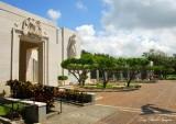 Honolulu Memorial at the National Memorial Cemetery, Lady Liberty, Honolulu Hawaii 060