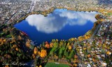 Autumn around Green Lake Seattle Washington 507