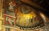 Apse in Basilica of Our Ladys in Trastevere Rome Italy 570