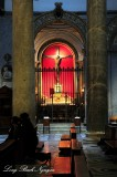 Small Chapel Santa Maria in Trastevere Rome Italy 563