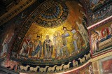 Coronation of the Virgin in the Apse Santa Maria in Trastevere, Rome Italy 581