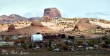 Kayenta with Segeke Butte Navajo Nation Arizona 407