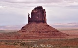 East Mitten Butte, Monument Valley, Tribal Park, Navajo Nation, Arizona 628