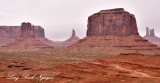 Merrrick Butte, West Mitten Butte, Sentinel Mesa, Monument Valley, Navajo Tribal Park, from John Ford's Point 720
