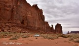 Rain God Mesa on Monument Valley Scenic Drive Navajo Tribal Park Arizona 743