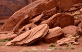 Rock Formation at Rain God Mesa Monument Valley Navajo Tribal Park Arizona 776