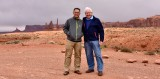 Me and Charlie at The Totem Pole Monument Valley 812