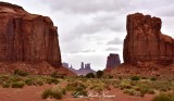North Window Overlook to Monument Valley Navajo Tribal Park Arizona 891