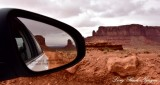 Last Look of Monument Valley Navajo Tribal Park Arizona 986