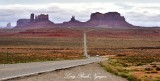 US Route 163 toward Monument Valley Navajo Tribal Park Navajo Nation Utah-Arizona 1102