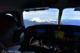 Quest Kodiak aircraft flyby Mt St Helens and Mt Rainier Washington 448