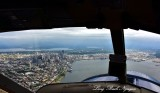 Downtown Seattle and Elliott Bay from DHC-2 Amph Beaver Floatplane 187